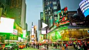 New York City B-Roll for Models WebTV Production ~ MY TIMES SQUARE