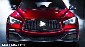 Infiniti Eau Rouge GT-R Sedan, McLaren 650S Spider, Audi TT Quattro Sport