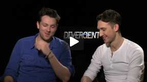 """Divergent"" Interviews with Christian Madsen and Ben Lloyd-Hughes"