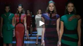 THE MADAME MOJE WORLD MASTERCARD FASHION WEEK FALL 2014 RUNWAY COLLECTION #WMCFW TORONTO