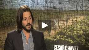"Diego Luna Talks About ""Cesar Chavez"""