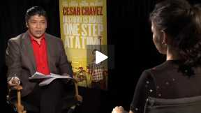 "America Ferrera Interview for ""Cesar Chavez"""