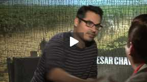 "Michael Pena Interview for ""Cesar Chavez"""