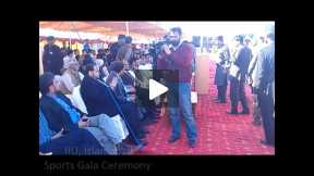 OPENING CEREMONY OF SPORTS GALA AT INTERNATIONAL ISLAMIC UNIVERSITY, ISLAMABAD 2013