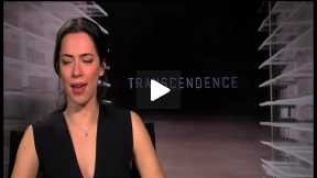 TRANSCENDENCE Interview with Rebecca Hall