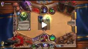 Hearthstone card game ranked Rogue vs Warlock .