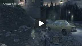Computer Game Call of Duty 4 (Mission Safe House Part 3)