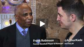 #InTheLab with Frank Robinson & Sharon Robinson