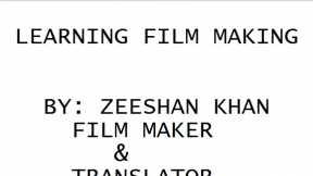 LEARN FILM MAKING