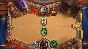 Hearthstone hunter vs priest casual game.