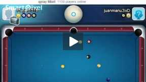 snooker match with computer