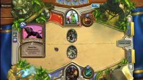 Hearthstone hunter vs druid casual game.