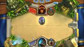 Hearthstone Shaman vs warrior casual game.