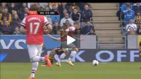 Highlights Hull City Vs Arsenal