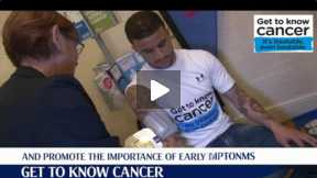 Get to know cancer and Kyle Walker's visit