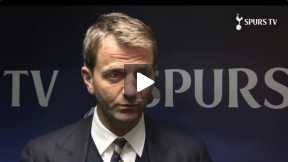 Tim Sherwood reacts after Fulham match