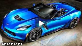 Corvette Z06 Convertible, Lexus NX Crossover, Saab 9-3 EV