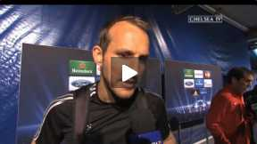 Schwarzer on his job against Atletico
