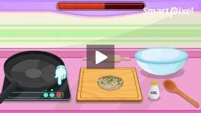 Make A Veggie Burger cooking game