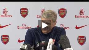 Arsene Wenger pre-match conference