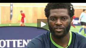 Adebayor confident for three points