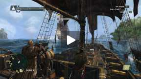 Assassin's Creed IV - Black Flag fight and loot