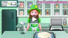 shamrock cake cooking game part1