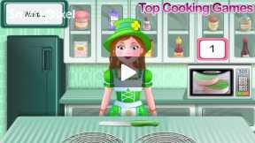 shamrock cake cooking game part2
