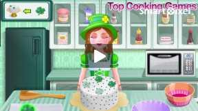 shamrock cake cooking game part4