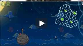 Angry Bird Space - Level 8-12