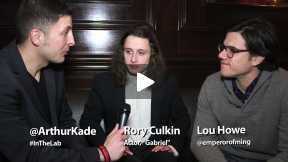 #InTheLab w Rory Culkin & Lowe Howe