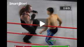 Smack down 3 Light Heavy Weight Title Holder Second Match(part 2)