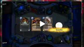 Rouge Vs. Hunter GamePlay Match- Heartstone