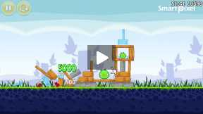 Angry Bird Level 1 part 9