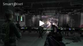 Computer Game Call of Duty 4 ( Mission No fighting In The War Room Part 3)