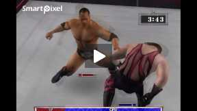 smack down 3 The Rock V/S Kane