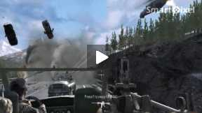 Computer Game Call of Duty 4 ( Mission Game over Part 1)