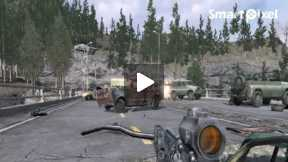 Computer Game Call of Duty 4 ( Mission Game Over Last Part)