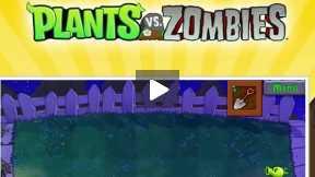 Plant Vs Zombies level 1