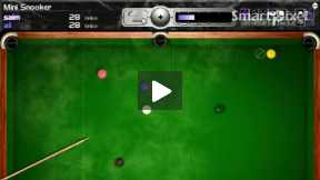 snooker in first time