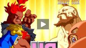 X-MAN Vs STREET FIGHTER (Fight 3)
