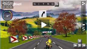 Strange bike race