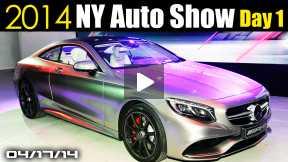 Mercedes S63 AMG, New Hyundai Sonata, Alfa Romeo 4C, 2014 New York Auto Show