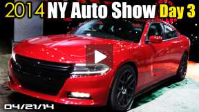 New Dodge Charger, BMW X4 & M4, New Nissan Murano, 2014 NY Auto Show