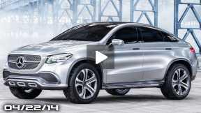 Mercedes X6 Concept Coupe, BMW Vision Future Concept, Audi TT Offroad