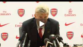 Arsene Wenger Press conference after West Brom