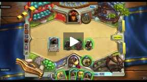 Hearthstone normal game 2014-05-07 Paladin Vs Warrior