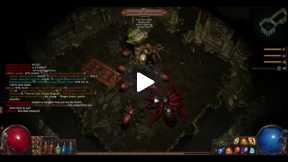 Playing Path of Exile Chamber of Sins Part 1
