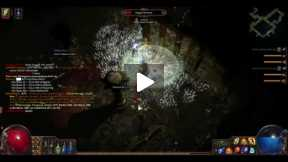 Playing Path Of Exile Chamber of Sins Part 2