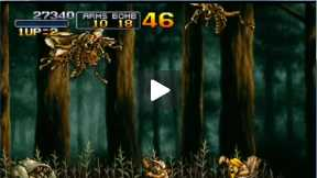 Walktrough Metal Slug 3: mission 1